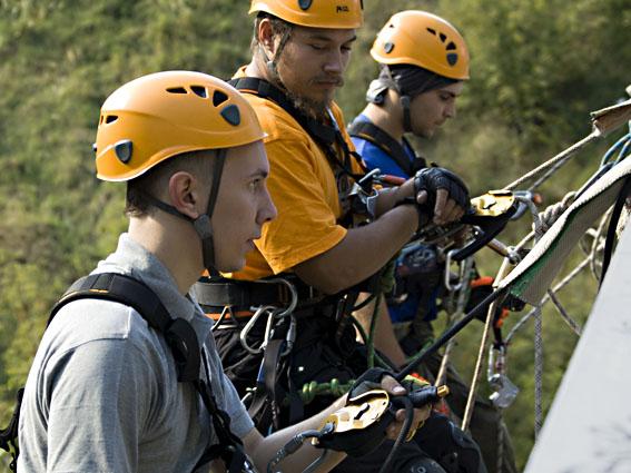 Услуги промышленных альпинистов в томске