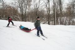 Обучение горным лыжам (8)