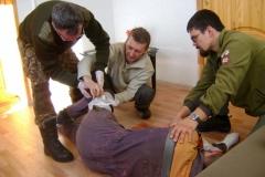 Первая помощь в заповеднике (7)